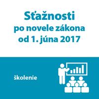 Školenie: Sťažnosti po novele zákona od 1. 6. 2017