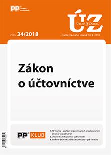 Úplné znenia zákonov 34/2018