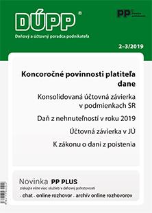 Daňový a účtovný poradca podnikateľa 2-3/2019