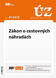 Úplné znenia zákonov 47/2018
